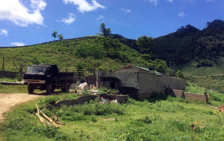 Căn nhà của Nguyễn Văn Thuận rộng khoảng 600m2.