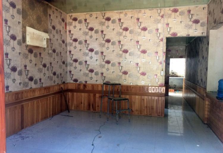 Bên trong có 5 gian phòng bao gồm cả bếp nấu ăn.