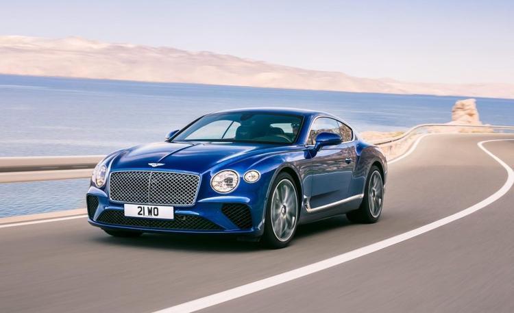 Bentley Continental GT là một trong những mẫu sẽ được nhiều cầu thủ tìm kiếm.