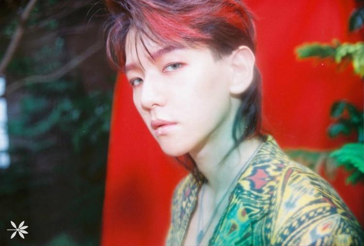 Beakhyun (EXO) còn nói đùa xin lỗi fan vì đã để kiểu tóc này.