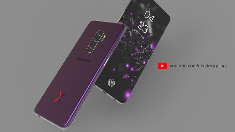 Phiên bản Samsung Galaxy X màu tím.