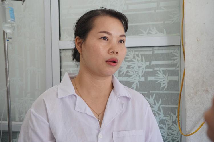 Bà Phạm Thị Lan Hương, quản lý Bệnh viện Thú y.
