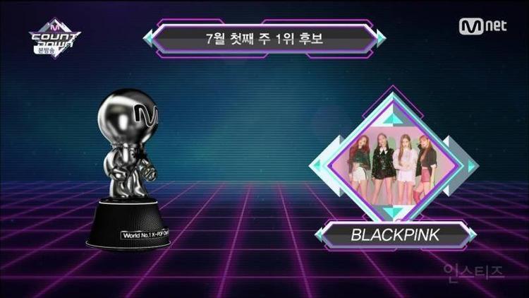 Chiến thắng tại M-Countdown ngày hôm nay đã là lần No.1 thứ 7 của các cô nàng.