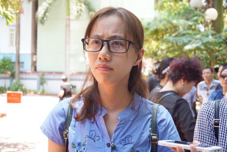 Chị Dương chia sẻ cảm xúc khi nghe tin bé Vân Nhi qua đời.