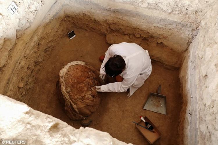 Sự khai quật này sẽ giúp chúng ta có những hiểu biết cặn kẽ hơn về nền văn minh cổ đại cũng như nghệ thuật gốm Icna thời bấy giờ. Ảnh: Reuters