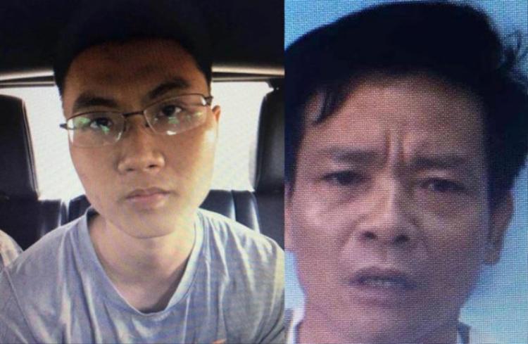 Đối tượng Vũ Hoàng Nam được xác định là kẻ đã ném chất nổ vào trụ sở công an phường 12 và nghi phạm Dương Bá Giang. Ảnh: báo Thanh Niên.