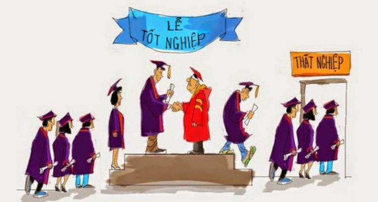 Có một sự thật nghiệt ngã là: Áp lực phải đỗ đại học không đáng sợ bằng combo hậu đại học: Nghèo + Thất nghiệp + Thất tình