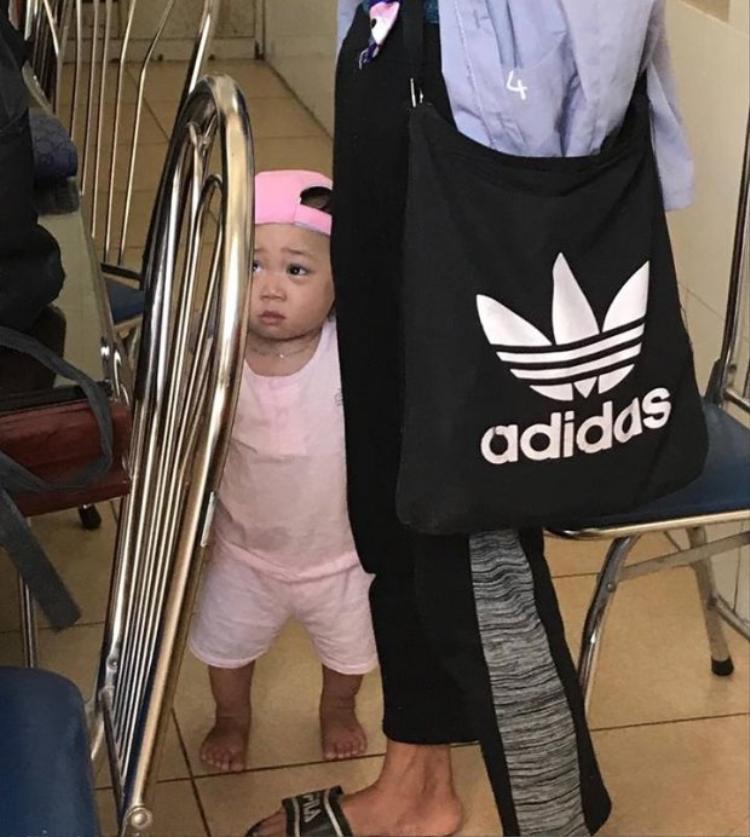 Hình ảnh con trai của Bella cách đây 2 ngày tại Trung tâm bảo trợ xã hội số 1.