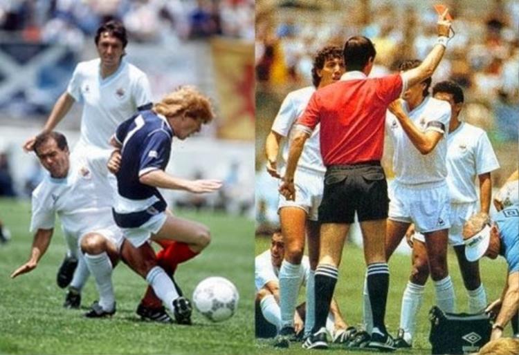Tại World Cup 1986, ĐT Uruguay đã trình diễn lối đá nhàm chán và đầy bạo lực, điển hình là trong trận đấu với ĐT Scotland.