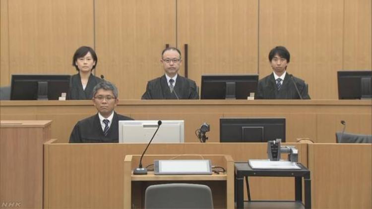 Tòa án quận Chiba hôm nay ra phán quyết chung thân đối với kẻ sát hại bé Nhật Linh. Ảnh: NHK