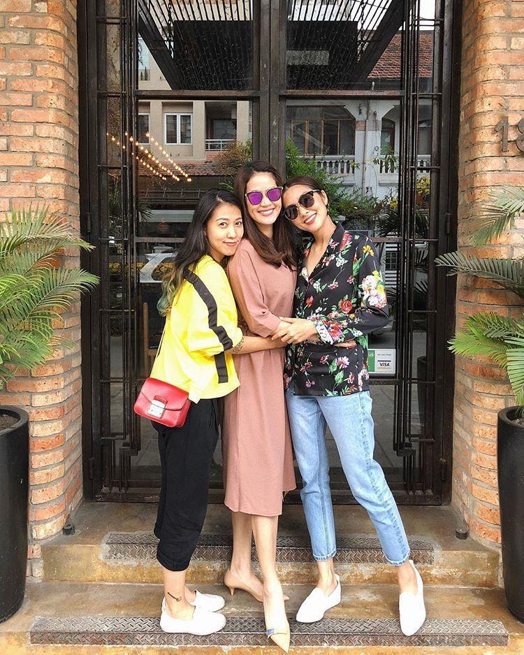 Thùy Trang, Thân Thúy Hà và Tăng Thanh Hà đã chơi thân với nhau khá lâu.