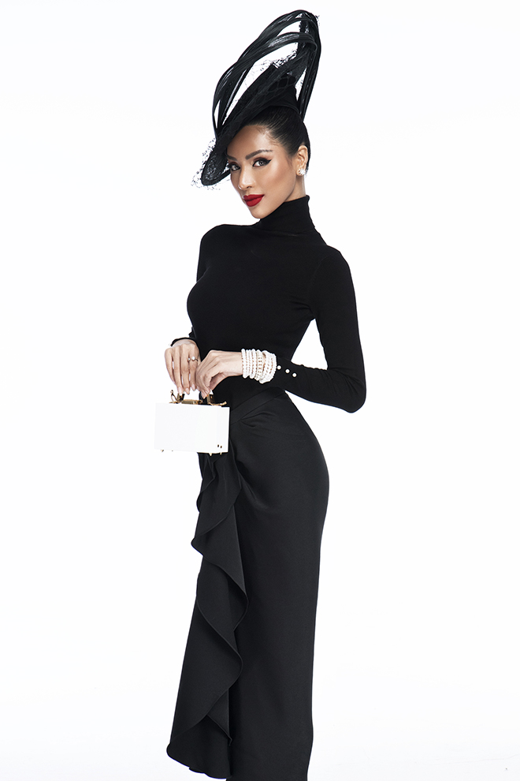 Giải vàng Siêu mẫu Việt Nam 2015 Khả Trang đẹp cạn lời với 10 cách mặc chiếc váy hot nhất Vbiz lúc này
