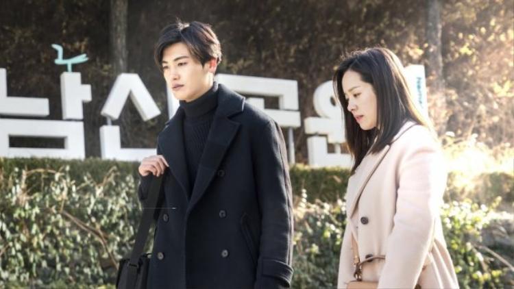 Han Ji Min và Park Hyung Sik.