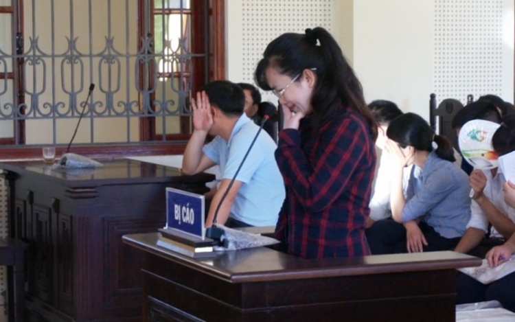 Bị cáo Lam nói lời cuối cùng