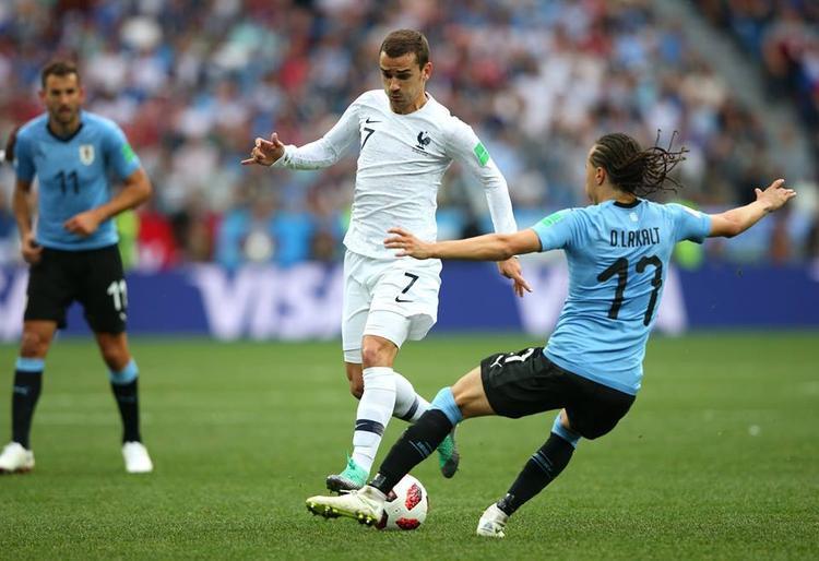 Griezmann có bàn thắng quá dễ dàng. Ảnh: FIFA