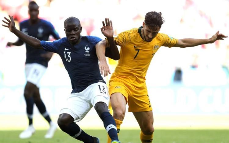 N'Golo Kante thi đấu ổn định kể từ đầu giải. Ảnh: Fifa.com.