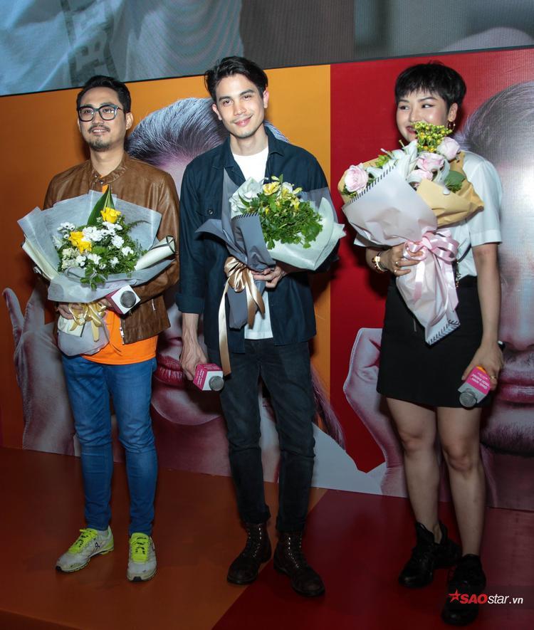 Sunny Suwanmethanon và Miu Lê đọ vẻ đẹp trai tại fan-meeting Việt Nam