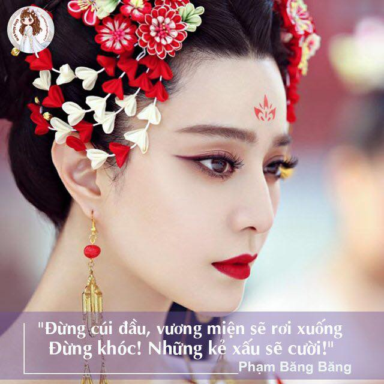 Những câu nói nổi tiếng của Phạm Băng Băng được chứng minh trên người của Địch Lệ Nhiệt Ba?
