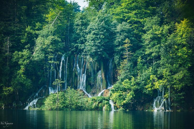 Plitvice National Park được cấu tạo từ 9 hồ nước đổ từ trên cao xuống, nên sẽ rất dễ bắt gặp thác nước ở khu vực này.