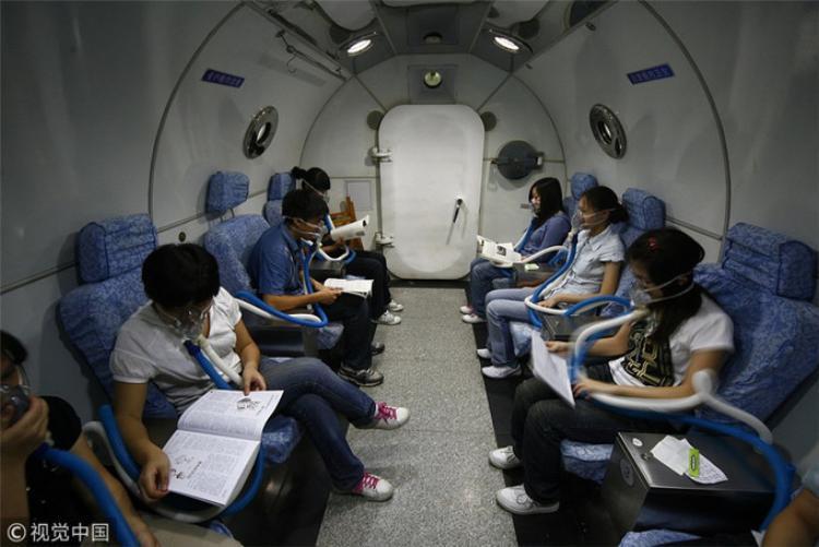 Hình ảnh học sinh ôn thi vật vã tại Trung Quốc.