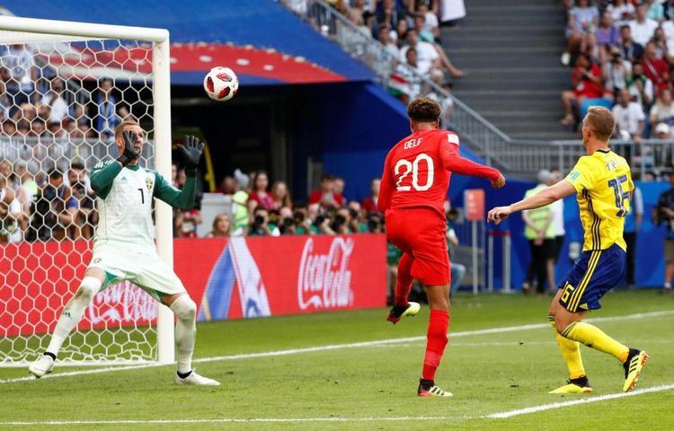 Anh vừa hạ gục Thuỵ Điển với tỷ số 2-0 để tiến vào bán kết World Cup sau 28 năm mòn mỏi đợi chờ.