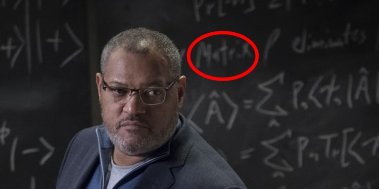 "Laurence Fishburne và easter egg về ""The Matrix""."
