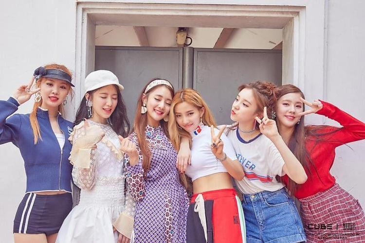 """(G)I-DLE là nhóm nhạc nữ do CUBE """"nhào nặn"""", ra mắt vào đầu năm 2018."""