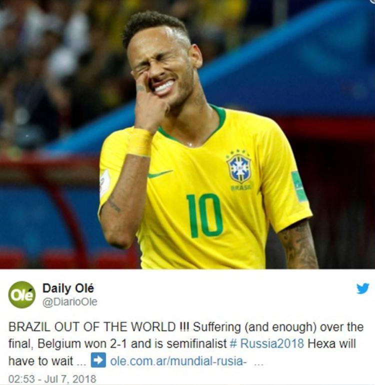 Brazil và tuyển Argentina được xem là hai kẻ không đội trời chung nên truyền thông châm biếm là điều có thể hiểu.