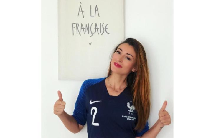 Nhan sắc Hoa hậu của bạn gái cầu thủ Pháp có bàn thắng đẹp nhất World Cup 2018