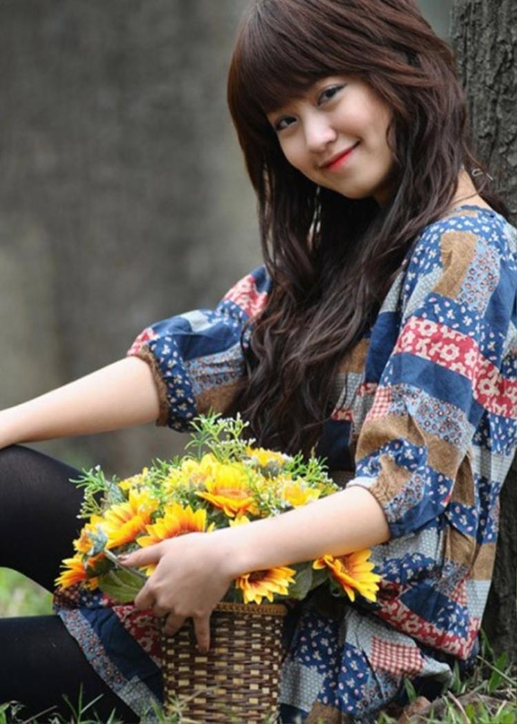 Hình ảnh hot girl Mi Vân ngày xưa