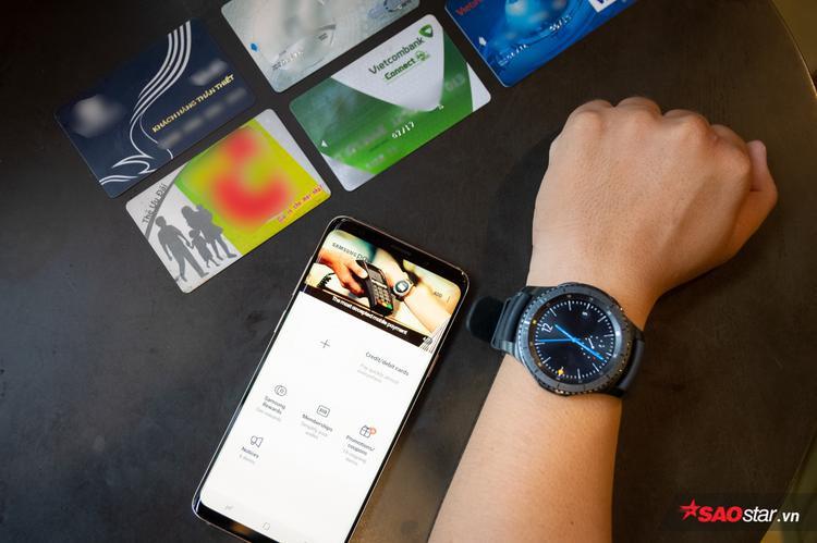 Trải nghiệm thanh toán bằng smartwatch Gear S3: Tiện nhưng vẫn còn hạn chế!