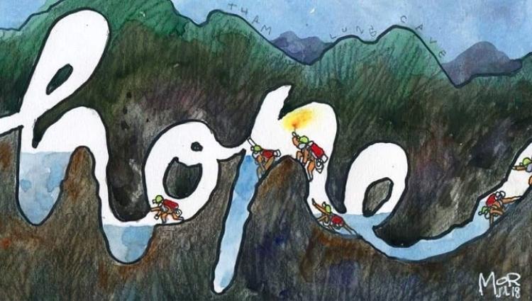 """Hành trình giải cứu là cuộc chạy đua với thời gian và vô cùng nguy hiểm vì các thành viên ở trên một mỏm đá sâu trong hang, cách miệng hang 4 km và có một """"nút thắt cổ chai"""" trên đường đi ra khỏi hang."""