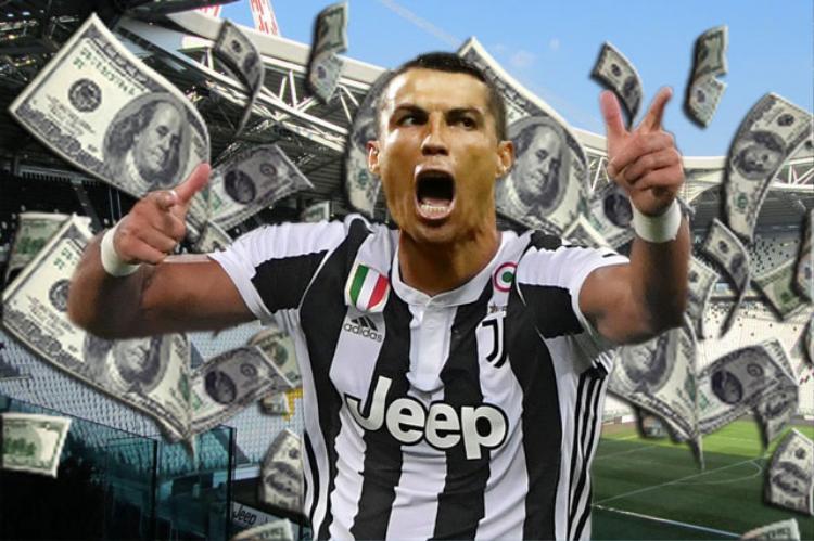 Ronaldo sẽ kiếm được rất nhiều tiền nếu gia nhập Juventus.