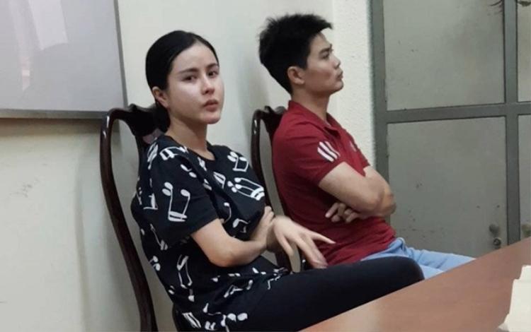 Trần Thị Hồng Trinh tại cơ quan điều tra.