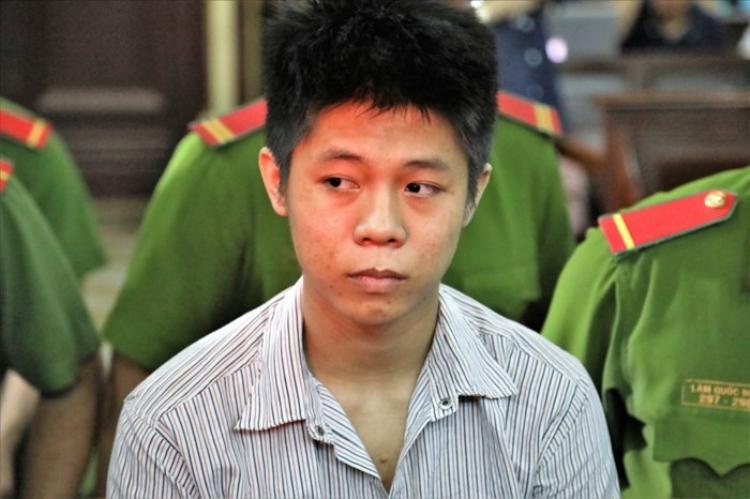 Bị cáo Nguyễn Hữu Tình trong phiên tòa xét xử ngày 9/7 vừa qua.