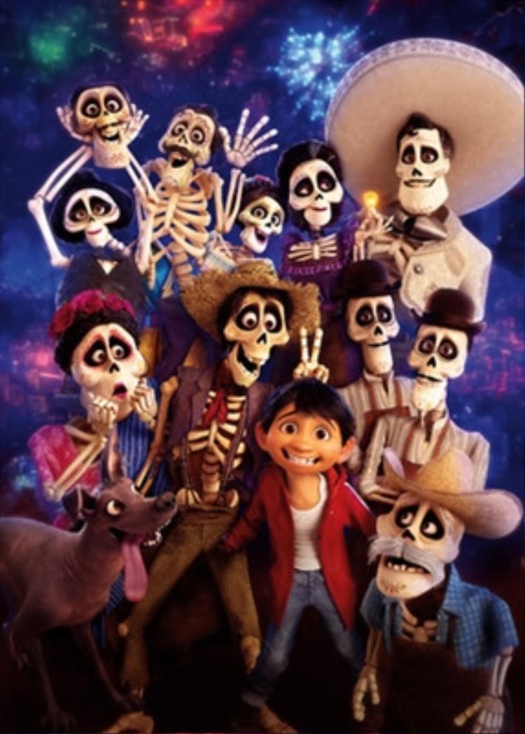 """""""Coco"""" phim hoạt hình đoạt giải Oscar vừa qua."""