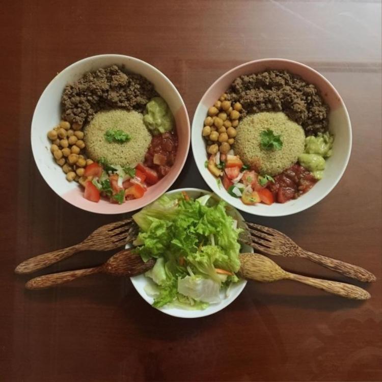Những món ăn vô cùng hấp dẫn cho Kaity Nguyễn chế biến.