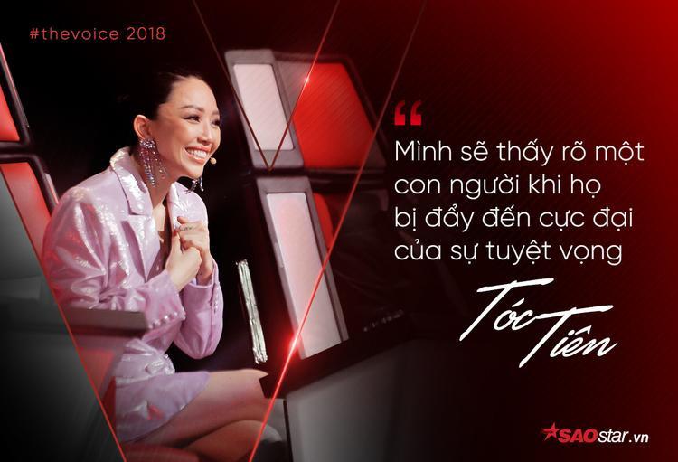 Đây là phát biểu của HLV Tóc Tiên khi cô cứu Sim Chanponloue về đội.