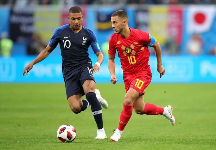 Hazard đã có hai cơ hội nguy hiểm trong hiệp 1. Ảnh: FIFA