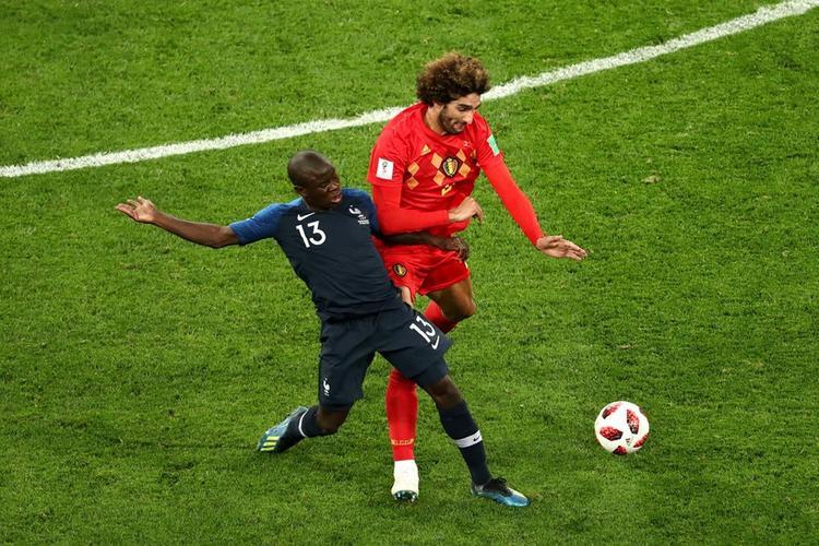 Một trận cầu rất hấp dẫn và Bỉ phải dừng bước. Ảnh: FIFA