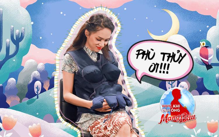 Bạn biết gì về bé Phù Thủy: Con gái cá tính của Hoa hậu Hương Giang tại Khi đàn ông mang bầu?
