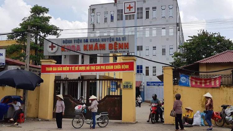 Bệnh viện đa khoa huyện Ba Vì.