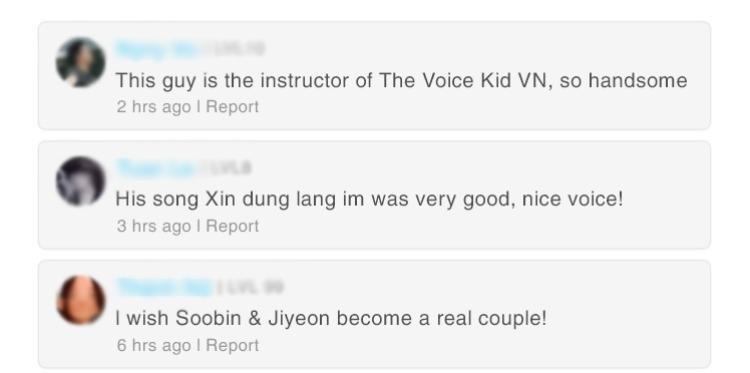 Nhiều bình luận từ các fan ngoại quốc cho rằng Xin đừng lặng im với giọng ca của nam ca sĩ là quá tuyệt vời và còn mong muốn Soobin và Jiyeon trở thành một cặp đôi thực sự.
