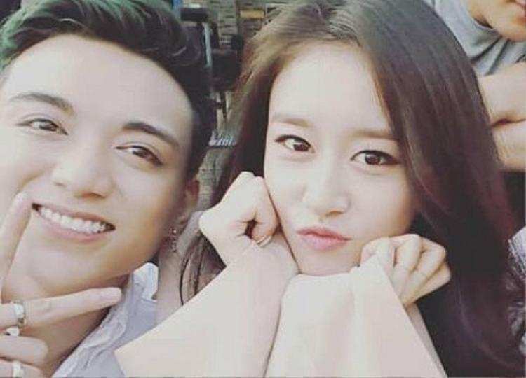 Soobin và Jiyeon trong dự án hợp tác mới nhất.
