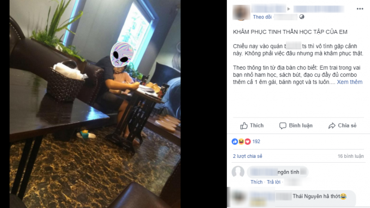 Hình ảnh cặp đôi thân mật quá đà trong quán trà sữa lại khiến dân mạng dậy sóng.