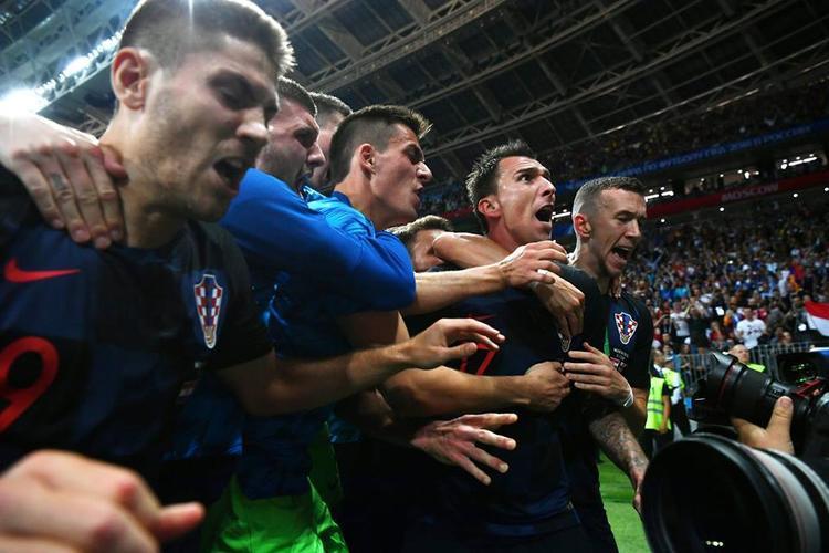 Croatia làm nên lịch sử sau chiến thắng trước tuyển Anh. Ảnh: FIFA