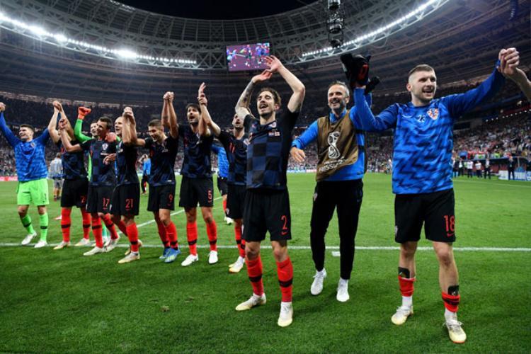 Croatia là đội tuyển đầu tiên thắng 3 trận đá hiệp phụ và luân lưu để thẳng tiến vào chung kết. Ảnh: Getty.