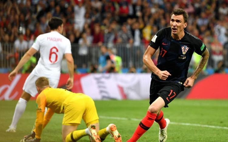 Mandzukic ghi bàn trong thời gian đá hiệp phụ. Ảnh: Fifa.com.
