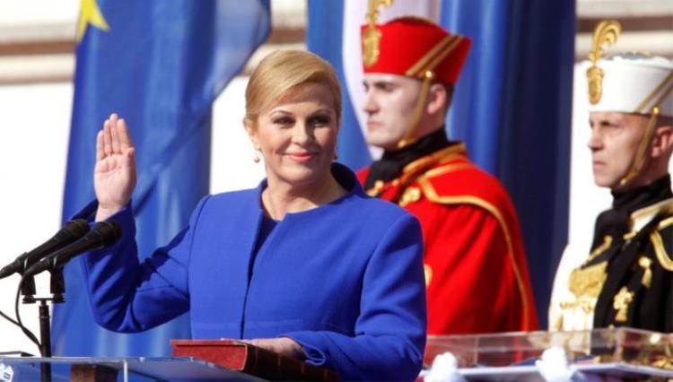 Nữ tổng thống Croatia, bà Kolinda Grabar-Kitarovic