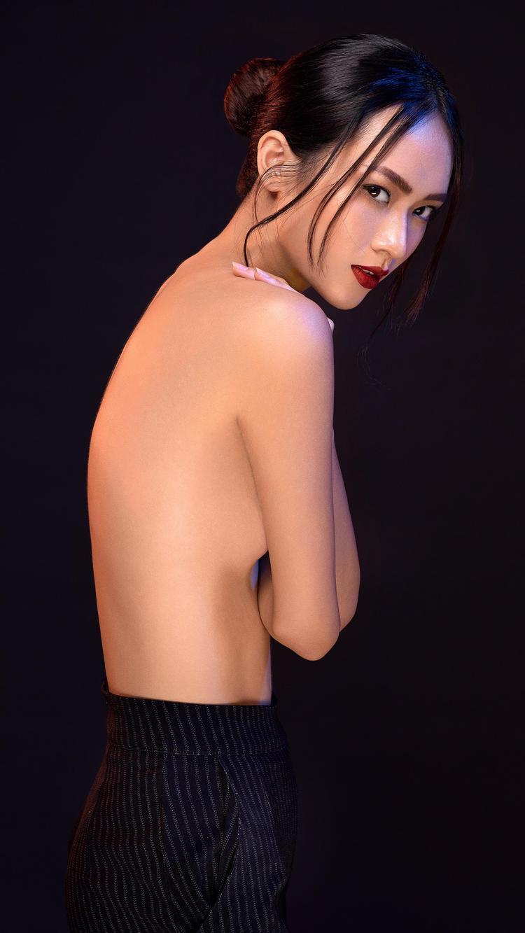 Cô cho rằng khả năng và sự chuyên nghiệp mới là thước đo đánh giá tốt nhất vị trí của một người mẫu trong nghề.